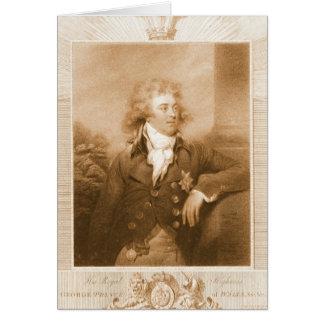 Prince George of Wales 1792 Card