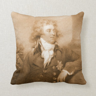 Prince George of Wales 1792 Throw Pillow