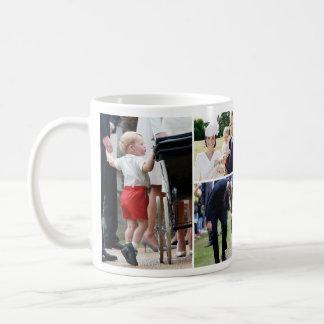 Prince George - Princess Charlotte - William Kate Classic White Coffee Mug