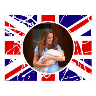 Prince George Royal Baby Postcard