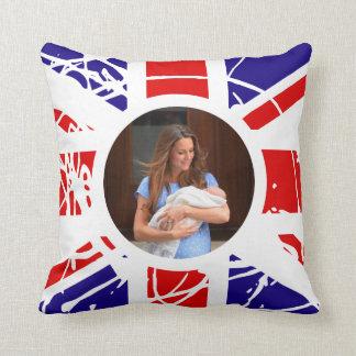 Prince George Royal Baby Throw Pillow