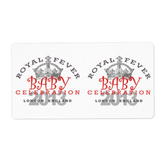 Prince George - Royal Celebration Shipping Labels