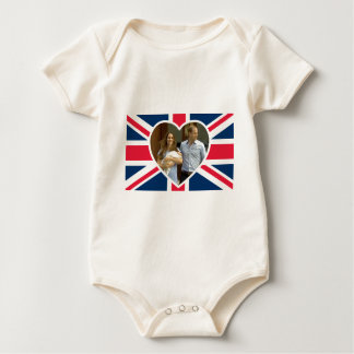 Prince George - William & Kate Baby Bodysuit