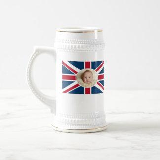 Prince George - William & Kate Beer Stein