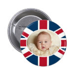 Prince George - William & Kate Button