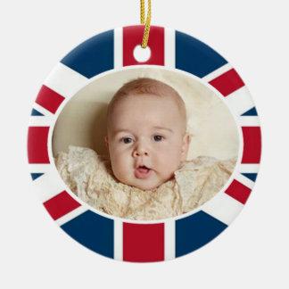 Prince George - William & Kate Ceramic Ornament