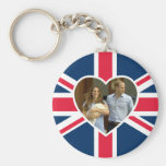 Prince George - William & Kate Basic Round Button Keychain