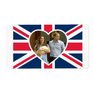 Prince George - William & Kate Labels