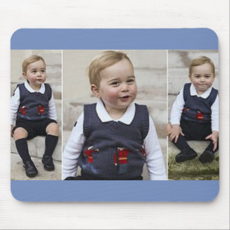 Prince George - William & Kate Mouse Pad