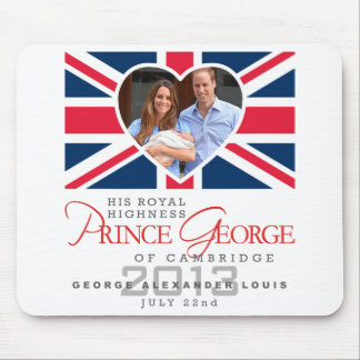 Prince George - William Kate Mouse Pad