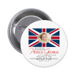 Prince George - William & Kate Pinback Buttons