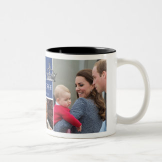Prince George - William & Kate Two-Tone Coffee Mug