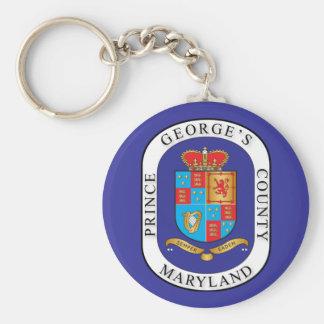 Prince George's County seal Keychain