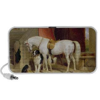 Prince George's Favourites (oil on canvas) Laptop Speaker