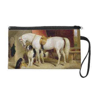Prince George's Favourites (oil on canvas) Wristlet Purse