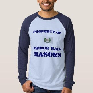 Prince Hall Baseball Jersey T-Shirt