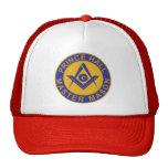 Prince Hall Master Mason Mesh Hats
