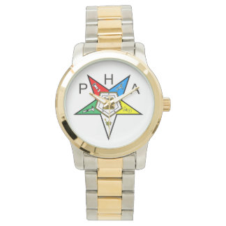 Prince Hall Order of the Eastern Star Wrist Watch