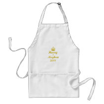 Prince Harry and Meghan Markle Adult Apron