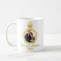 Prince Harry and Meghan Markle Coffee Mug
