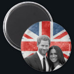 "Prince Harry and Meghan Markle Magnet<br><div class=""desc"">Prince Harry and Meghan Markle</div>"