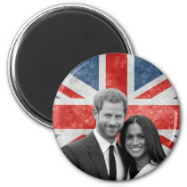 Prince Harry and Meghan Markle Magnet