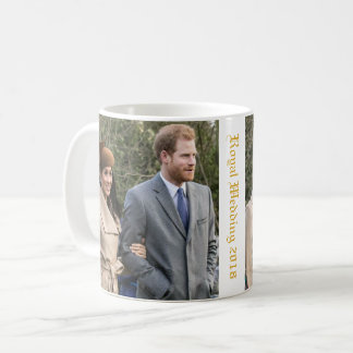 Prince Harry and Meghan Markle Royal Wedding 2018 Coffee Mug