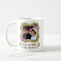 Prince Harry and Meghan Markle Royal Wedding Coffee Mug