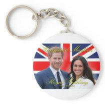 Prince Harry and Meghan Markle Royal Wedding Keychain