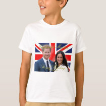 Prince Harry and Meghan Markle Royal Wedding T-Shirt