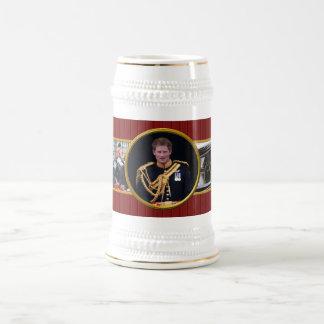 Prince Harry Beer Stein