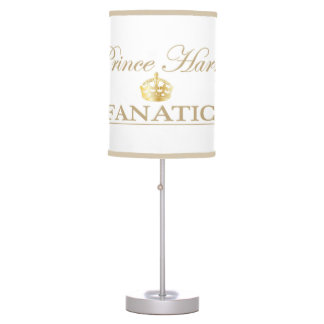 Prince Harry Fanatic Table Lamp