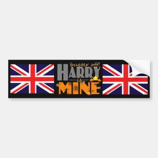 Prince Harry is Mine Bumper Sticker