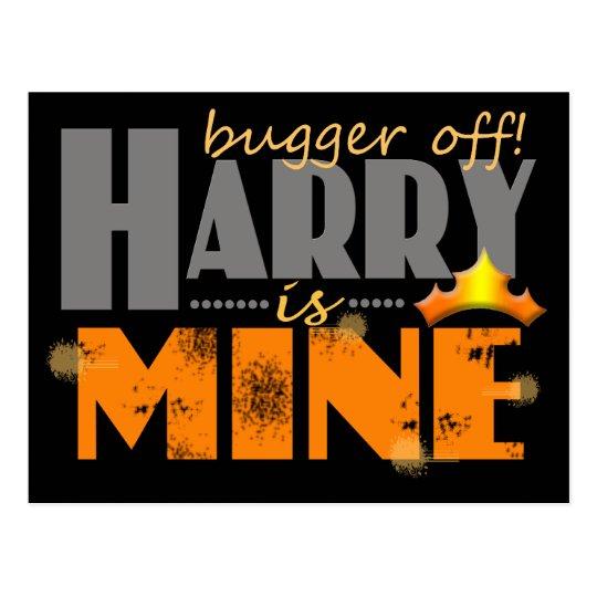 Prince Harry is Mine Postcard