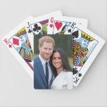 "Prince Harry &amp; Meghan Markle Engagement Photo 15 Bicycle Playing Cards<br><div class=""desc"">Announcement Of Prince Harry&#39;s Engagement To Meghan Markle</div>"