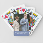 "Prince Harry &amp; Meghan Markle | Royal Wedding 2018 Bicycle Playing Cards<br><div class=""desc"">Prince Harry and actress Meghan Markle during an official photocall to announce their engagement</div>"