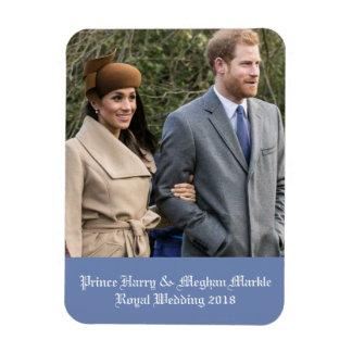 Prince Harry & Meghan Markle Royal Wedding 2018 Magnet