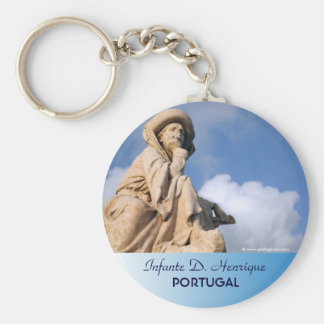 Prince Henry the Navigator Basic Round Button Keychain
