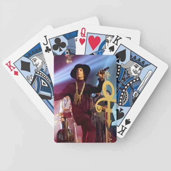Prince | Hollywood Paladium | LA, CA Bicycle Playing Cards
