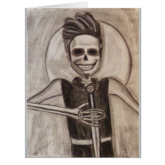 Prince Horrid, Halloween Card