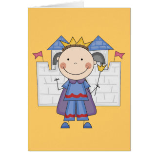 Prince in Castle Tshirts and Gifts Card