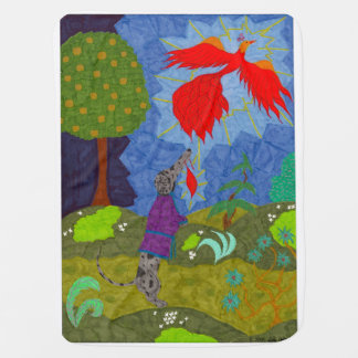 Prince Ivan and the Firebird Swaddle Blanket
