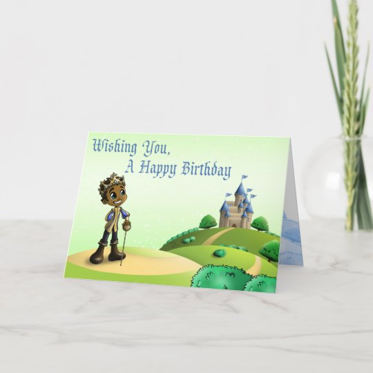 Prince Jamal Birthday Cards Card Zazzle Com