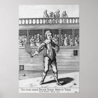Prince James- Duke of York Poster