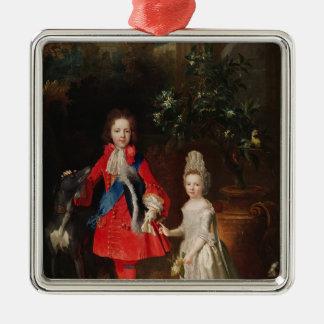 Prince James Francis Edward Stuart Metal Ornament