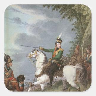 Prince Jozef Antoni Poniatowski  1809-13 Square Sticker