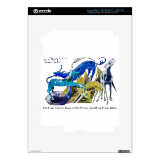 Prince Jusuff's Service Dogs Decal For iPad 3
