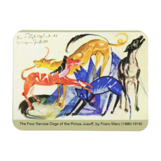 Prince Jusuff's Service Dogs Magnet