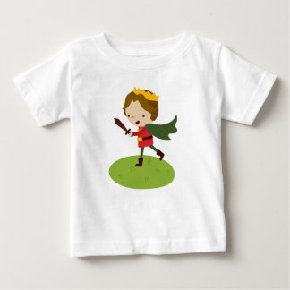 Prince Liam's Charge from Fairy Tale Kingdon Baby T-Shirt
