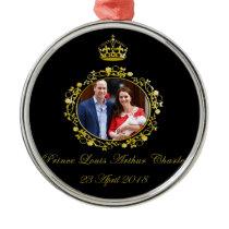 Prince Louis Arthur Charles Metal Ornament